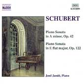 Schubert: Piano Sonatas Op 42 & 122 / Jen&ouml; Jand&oacute;