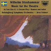 Stenhammar: Music for the Theatre / Volmer, Helsingborg SO