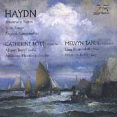 Haydn: Arianna a Naxos, etc / Bott, Tan, Bury, Pleeth, et al
