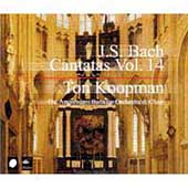Bach: Cantatas Vol 14 / Ton Koopman, Amsterdam Baroque