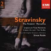 Gemini - Stravinsky: Firebird, Petrushka, etc / Rattle