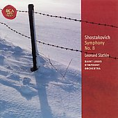 Classic Library - Shostakovich: Symphony no 8 / Slatkin