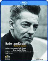 Herbert von Karajan: Memorial Concert / Mutter, Ozawa/Berlin PO [Blu-Ray]