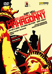 Weill: Rise & Fall of the City of Mahagonny / Jones, Malfitano, Hadley [DVD]