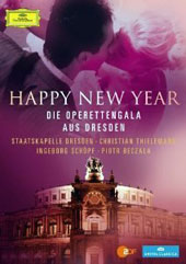 Happy New Year - The Dresden Opera Gala / Ingeborg Schkopf; Piotr Beczala  [DVD]