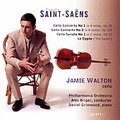Saint-Saëns: Cello Concertos no 1 & 2, etc / Walton, et al