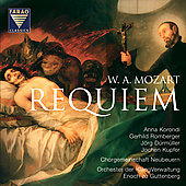 Mozart: Requiem / Guttenberg, Korondi, D&#252;rm&#252;ller, et al