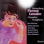 Schoenberg: Pierrot Lunaire, etc / Manning, et al