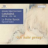 Bach: Ich habe genug, etc / Kuijken, Hermans, Genz, et al