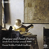 Musique and Sweet Poetrie - Dowland, etc / Kirkby, Lindberg