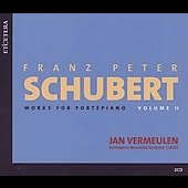 Schubert: Works for Fortepiano Vol 2 / Jan Vermeulen