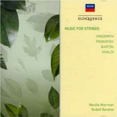 Music For Strings: Hindemith, Prokofiev, Bartok, Vivaldi /Neville Marriner; Rudolf Barshai