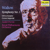 Classics - Walton: Symphony no 1, etc / Previn, Royal PO