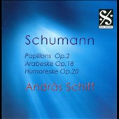 Schumann: Papillons; Arabeske; Humoreske / Andras Schiff
