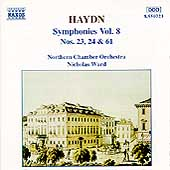 Haydn: Symphonies nos 23, 24 & 61 / Ward, Northern CO
