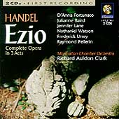 Handel: Ezio / Clark, Baird, Fortunato, Lane, et al