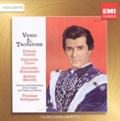 Verdi: Il Trovatore [Highlights] / Corelli, Tucci, Simionato, Merrill