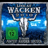 Various Artists: Live At Wacken 2010: 21 Years: Faster, Harder, Louder [Box]