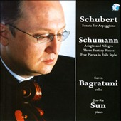 Schubert & Schumann: Works for Cello and Piano / Suren Bagratuni, cello; Jen-Ru Sun, piano