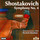 Shostakovich: Symphony No. 4 / Rudolf Barshai