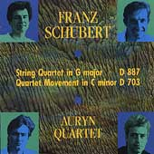 Schubert: String Quartet in G, Quartet Movement in c