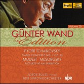 G&#252;nter Wand Edition, Vol. 20 - Tchaikovsky: Piano Concerto no 1; Mussorgsky: Pictures at an Exhibition