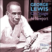 George Lewis (Clarinet): On Stage and at Newport