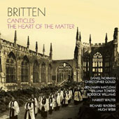 Britten: Canticles; The Heart of the Matter / Daniel Norman: tenor; Christopher Gould: piano
