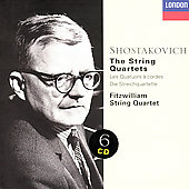 Shostakovich: The String Quartets / Fitzwilliam Quartet
