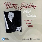 Walter Gieseking Plays Debussy Shorter Piano Works