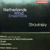 Stravinsky: Mavra, etc / Fischer, Netherlands Wind Ensemble