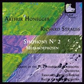 Arthur Honegger: Symphony No. 2; Richard Strauss: Metamorphosen / Emmanuel Leducq-Barome