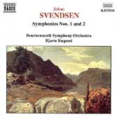Svendsen: Symphonies no 1 and 2 / Engeset, Bournemouth SO