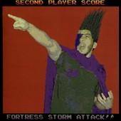 Second Player Score: Fortress Storm Attack