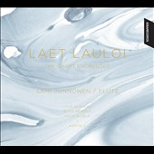 Laet Lauloi: The Chant Enchanted - transcribed & original works for flute & kantele by Bach, Ikonen, Lopez, Miyagi, Pulkkis / Sami Junnonen, flute; Elisa Kerola, kantele (related to the dulcimer)