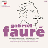 A Century Of French Music - Gabriel Fauré (1845-1924): Requiem; Violin Sonata; Nocturnes for piano / Various Artists