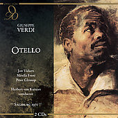 Verdi: Otello / Karajan, Vickers, Freni, Glossop, et al
