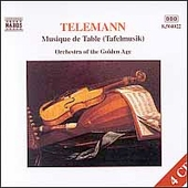 Telemann: Musique de Table / Orchestra of the Golden Age