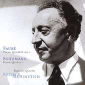 Rubinstein Collection Vol 23 - Faur&#233;, Schumann