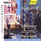 Faszination Musik - Wolf: String Quartet, etc / Fine Arts