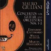 Giuliani: Concertos for Guitar / Edoardo Catemario, et al