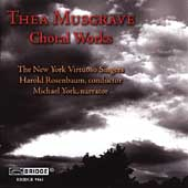 Thea Musgrave: Choral Works / Rosenbaum, et al