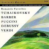 Romantic Favorites - Tchaikovsky, Barber, Puccini, et al