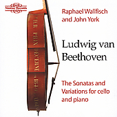 Beethoven: Cello Sonatas, etc / Raphael Wallfisch, John York