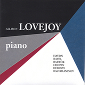 Allison Lovejoy, Piano