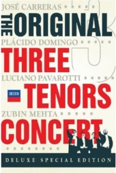 The Original Three Tenors Concert / Carreras, Domingo, Pavarotti [DVD]