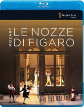 Mozart: The Marriage of Figaro / Lopez-Cobos, Tezier, Frittoli, Pisaroni, Rey [3 Blu-Ray]
