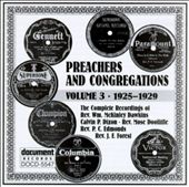 Various Artists: Preachers and Congregations, Vol. 3: 1925-1929