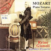 Legendary Treasures - Mozart: Piano Sonatas Complete/Gianoli