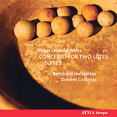 Weiss: Concerto for Two Lutes / Hofstotter, Costoyas